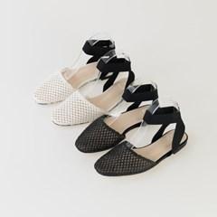 mesh banding sandal