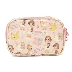 Oilcloth daily pouch_Pink pattern