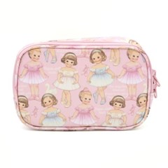 Oilcloth daily pouch_Ballet pattern
