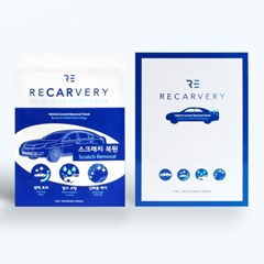 [RECARVERY]차량 스크래치 복원 타올 리카버리