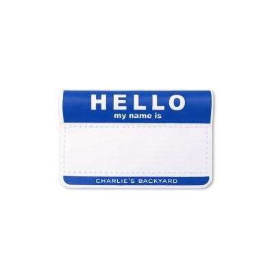 HELLO NAME TAG / NAVY