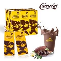 스페인 프리미엄 카카오우유 카카오랏 오리지널 200ML 미니브릭24팩&