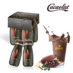 스페인 프리미엄 카카오우유 카카오랏 노아르 200ML PET 4팩