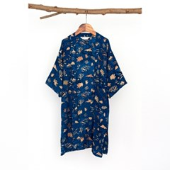 [Kids Robe] Sunset - Navy