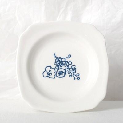 정물 디저트 접시