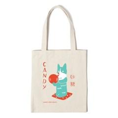 캔디독 에코백 CANDY DOG ECO BAG - ivory