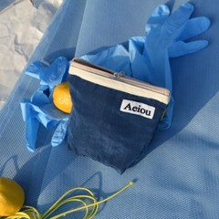 Aeiou Basic Pouch / navy