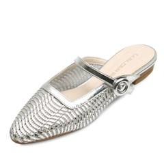 kami et muse Top belt strap mash slippers_KM18s360