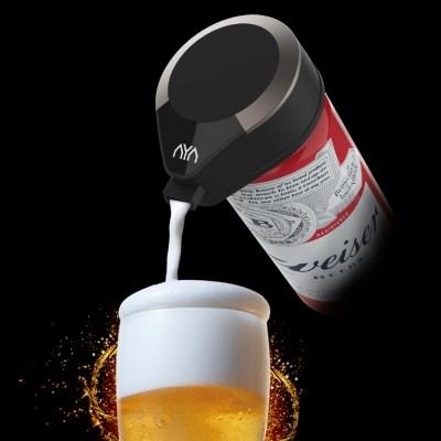비어라떼 휴대용 포켓 맥주거품기 LMT-BB100