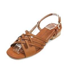 kami et muse Slim cross strap sandals_KM18s365