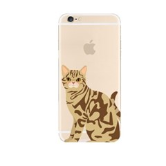 Look at Me Cat (JA-010A) Jelly Case