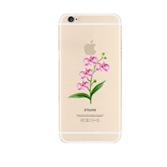 Watercolor Pink Flower (JF-036A) Jelly Case