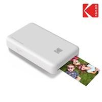 휴대용 포토 프린터 코닥 미니2 블랙 +전용 스티커 카트리지 20매