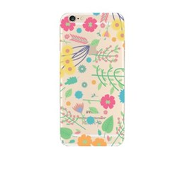 Cute Illust Flower (JF-031B) Jelly Case