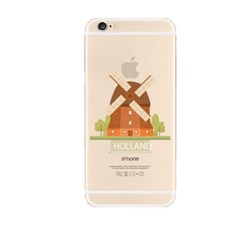 Holland Illust (JE-029A) Jelly Case