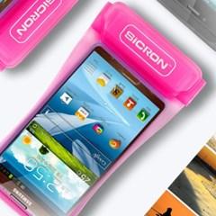 시크론 스마트폰 암밴드 방수팩 6.2
