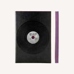 레트로 스케치북 (A5, Black)