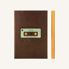 레트로 스케치북 (A5, Brown)