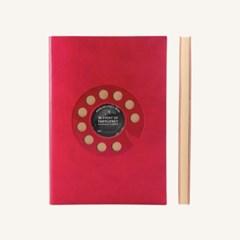 레트로 스케치북 (A5, Red)