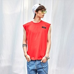 SIGNATURE OVER-FIT SLV_RED