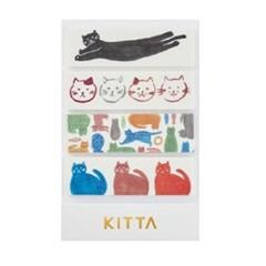 [KITTA] 포켓형 마스킹 테이프_KIT026 고양이
