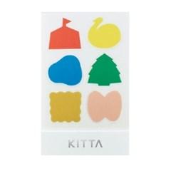 [KITTA seal] 포켓형 데코 스티커_KITD009