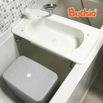 [버드시아] 유아 세면대+욕실의자 세트