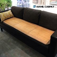 [한일카페트] 엘리 3단 대나무 방석 45x160