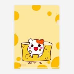 에비츄 L홀더 파일 A4_오리지널 치즈
