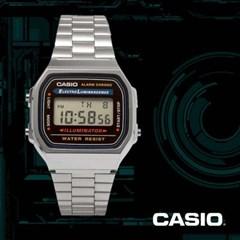 CASIO 카시오 A168WA-1 남여공용 빈티지 레트로 디지털시계