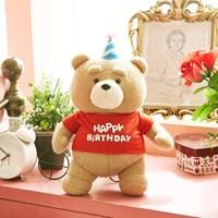 19곰테드 해피버스데이 생일선물 인형 30CM_(925883)