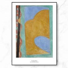 마티스 인테리어 그림 액자 포스터 Composition_(1576470)