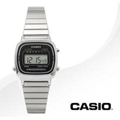 CASIO 카시오 LA670WA-1 여성시계 빈티지 레트로 메탈시계