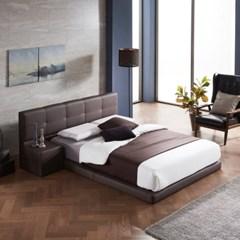SB260 저상형 모던 패브릭 침대(협탁포함) +bedis 매트리스 Q set