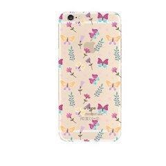 Butterfly and Flower  (JF-042B) Jelly Case