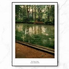 카유보트 인테리어 그림 액자 포스터 예르강의 비_(1570265)