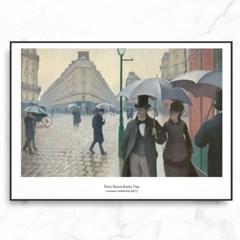 카유보트 인테리어 그림 액자 포스터 파리의 비오는날_(1570264)