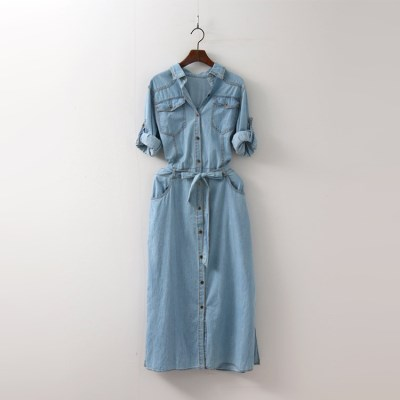 Denim Shirts Dress
