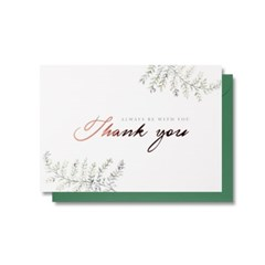 Always Thank you 카드