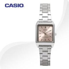 카시오 LTP-V007D-4E 여성용 메탈밴드 아날로그시계