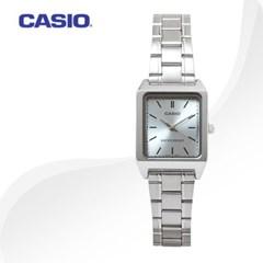 카시오 CASIO LTP-V007D-2E 여성용 메탈밴드 아날로그시계