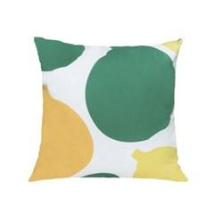 누키트 어니언볼즈 쿠션 (green/yellow) (50x50)