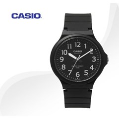 카시오 CASIO MW-240-1B 남여공용 우레탄밴드 아날로그시계