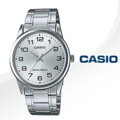 카시오 CASIO MTP-V001D-7B 남성용 메탈밴드 아날로그시계