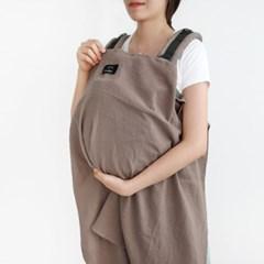 코니테일 수유가리개-코코아(아기띠바람막이 워머)