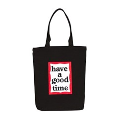 [HAVE] FRAME TOTE BAG_BLACK