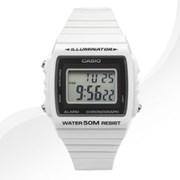 카시오 W-215H-7A 우레탄 밴드 시계