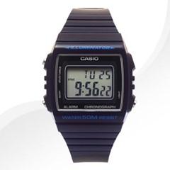 카시오 CASIOW-215H-2A 남여공용 우레탄 밴드 시계