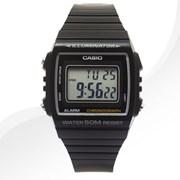 카시오 W-215H-1A 우레탄 밴드 시계