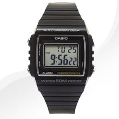 카시오 CASIO W-215H-1A 남여공용 우레탄 밴드 시계